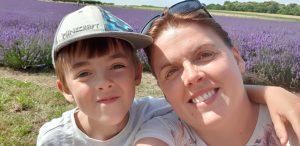 lordington lavender selfie